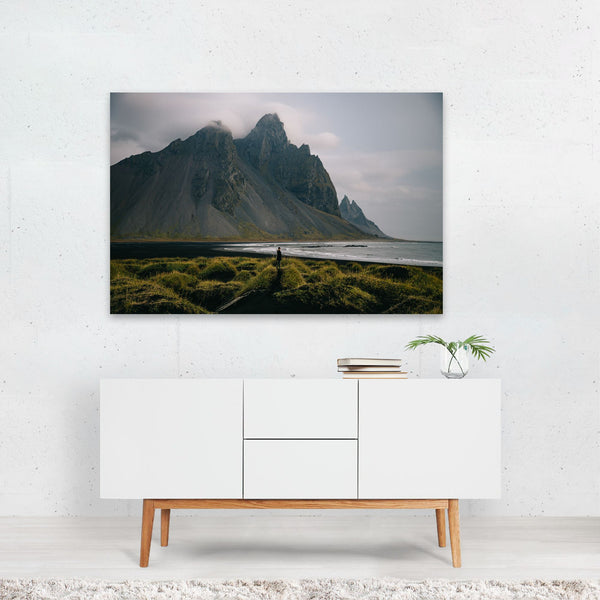 Hofn Iceland Beach Nature Photo Art Print
