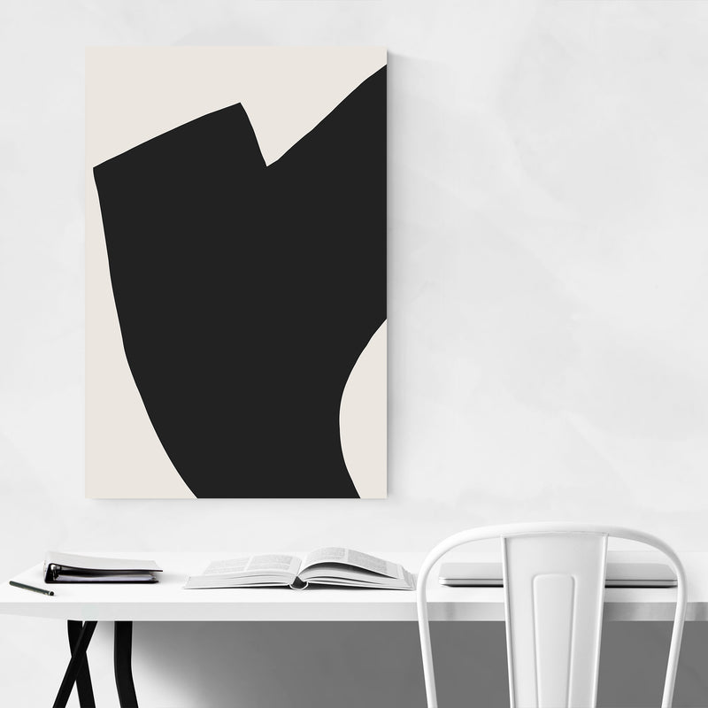 Abstract Minimal Shapes Design Art Print