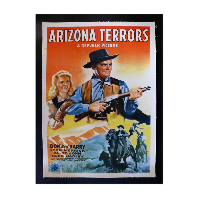 Arizona Terrors TV/Movie Art Print
