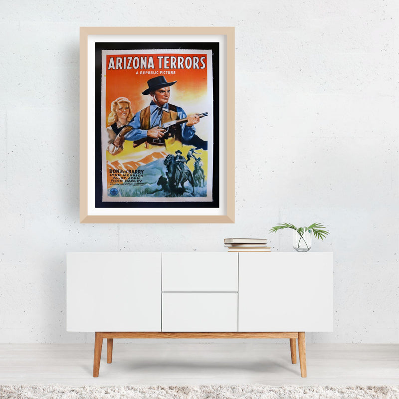 Arizona Terrors TV/Movie Framed Art Print