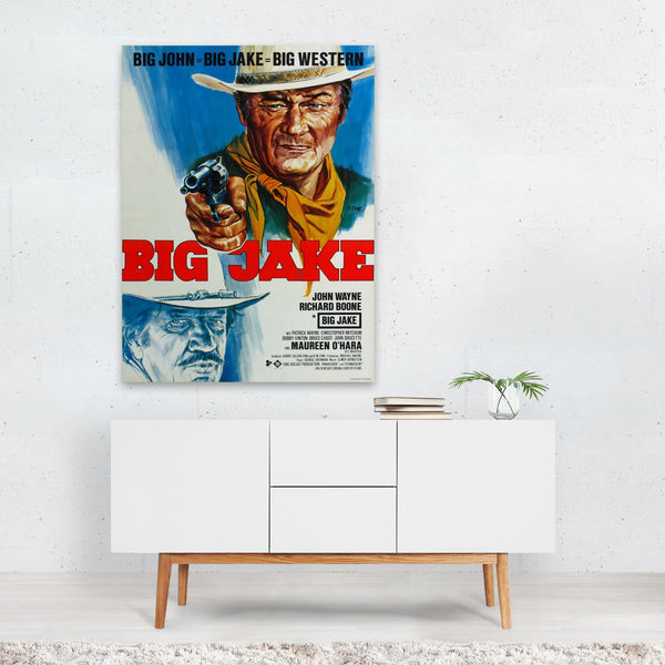 Big Jake TV/Movie Art Print