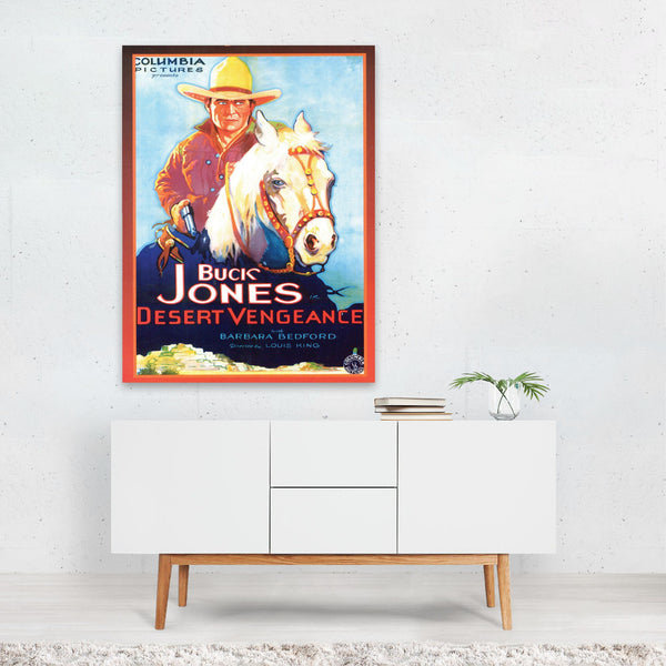 Buck Jones TV/Movie Art Print