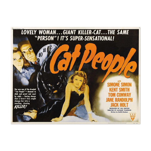 Cat People Movie Illustration Art Print
