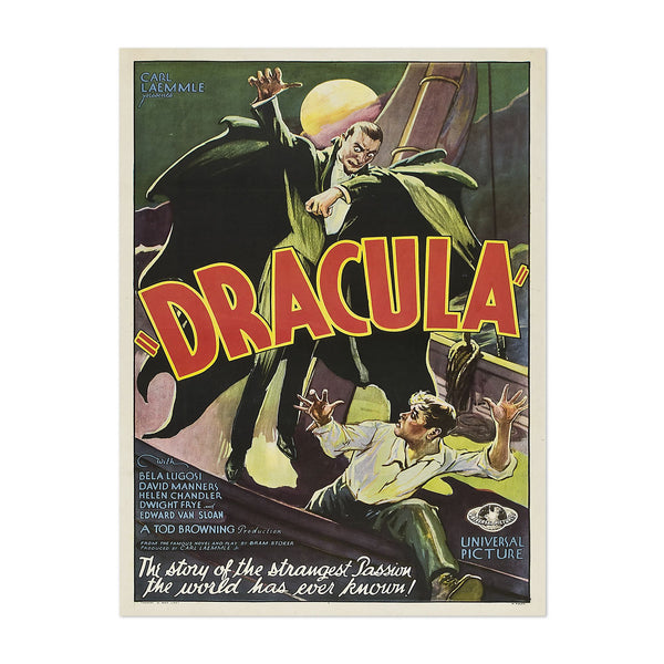 Dracula 1931 TV/Movie Art Print