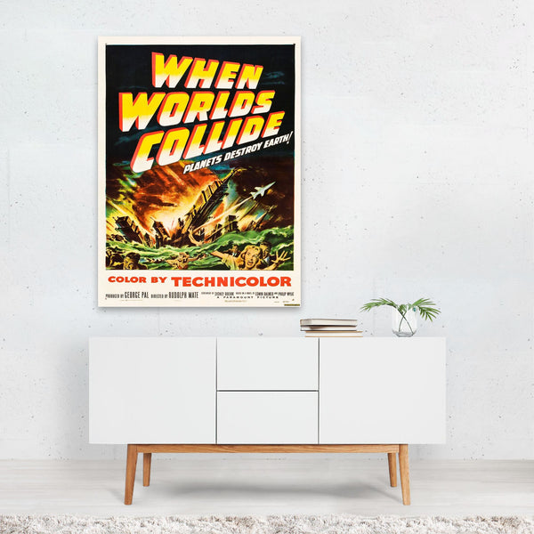 When Worlds Collide Art Print