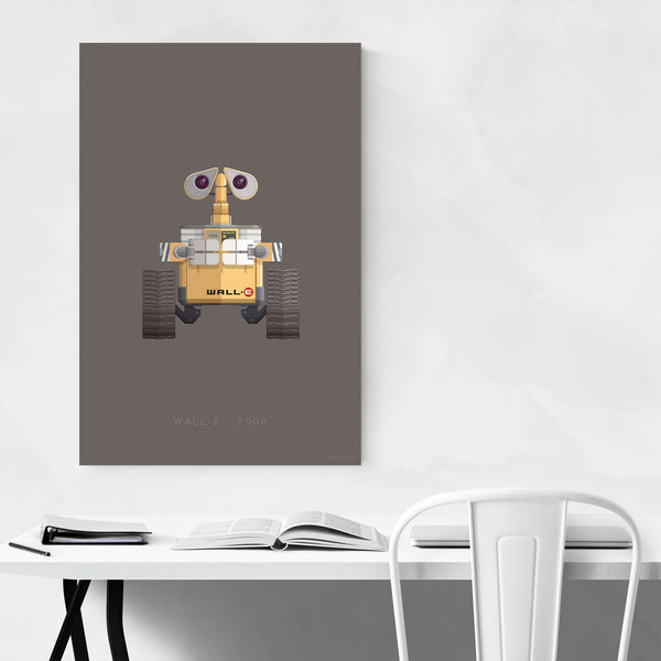 Wall-E Robots Movie TV Illustration Art Print