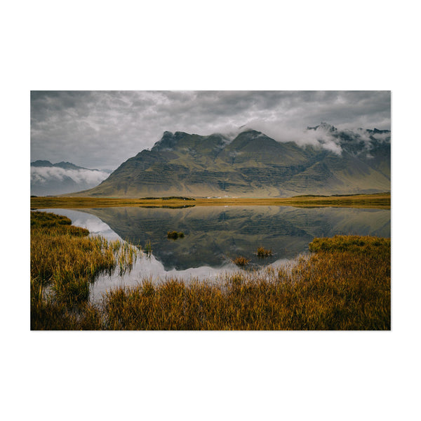 Hofn Iceland Nature Photo Art Print