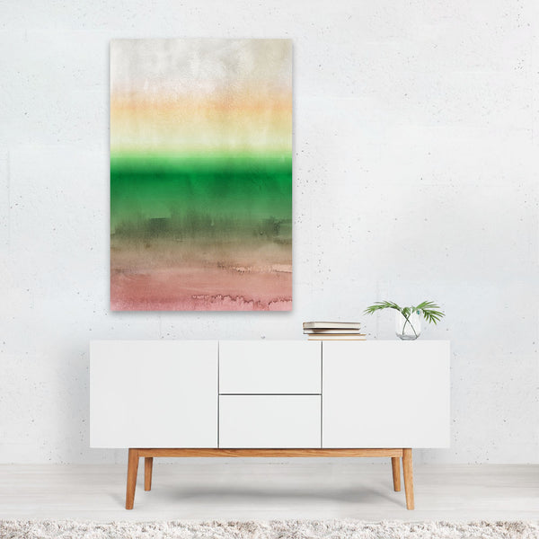 Abstract Nature Watercolor Painting Art Print