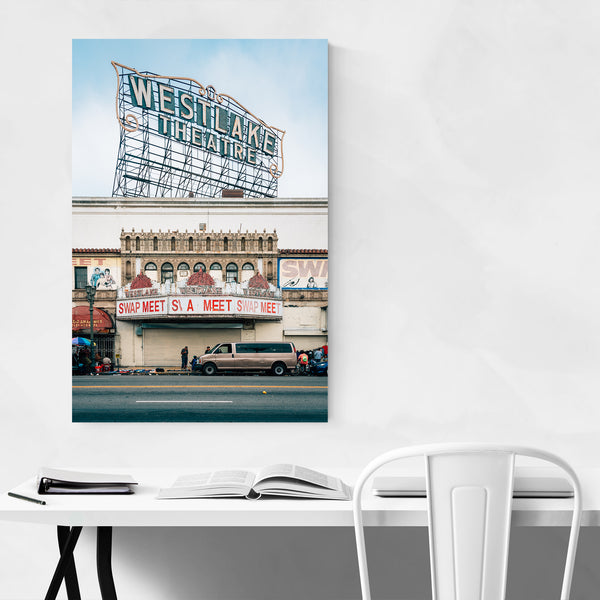 Westlake Theater Los Angeles Art Print