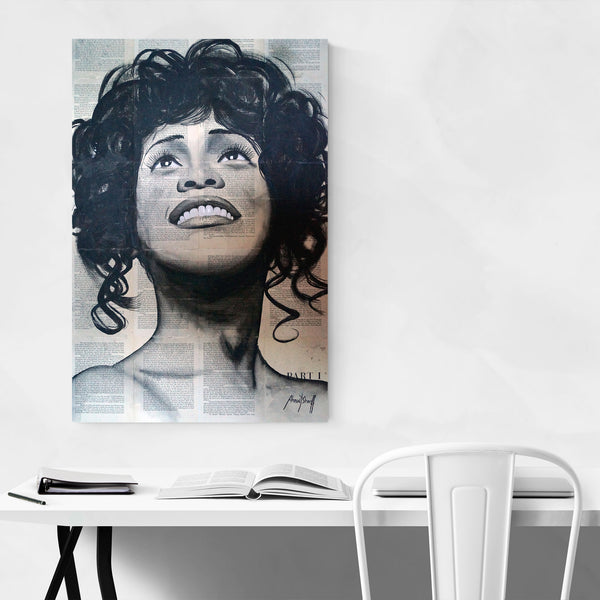 Whitney Houston Music Pop Culture Art Print