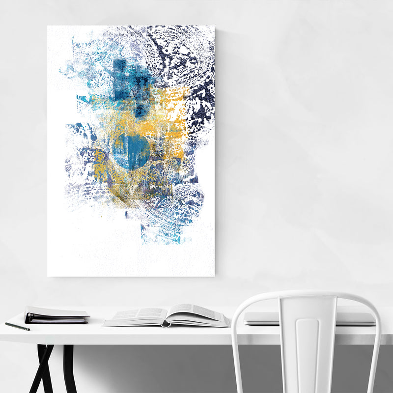 Abstract Digital Painting Minimal Art Print
