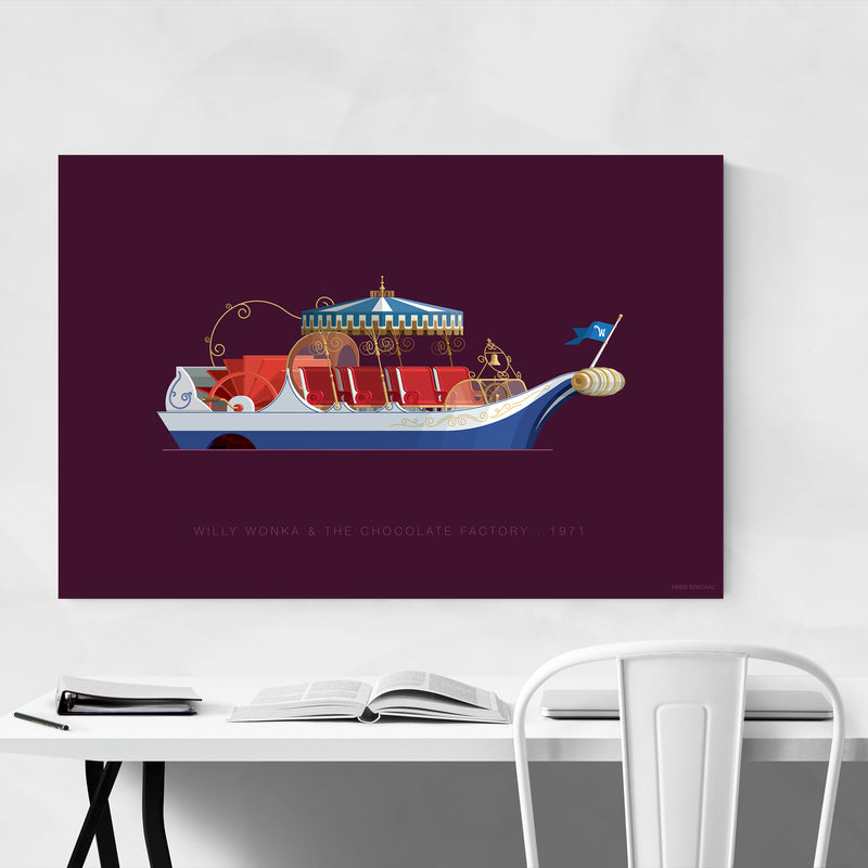 Willy Wonka & The Chocolate Factory Art Print