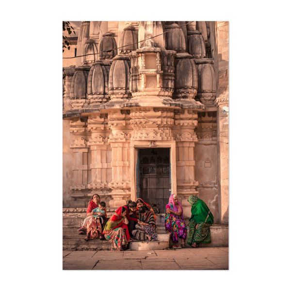 Udaipur India Temple Photography Art Print