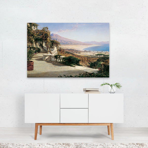 Beach Nature Painting Art Print
