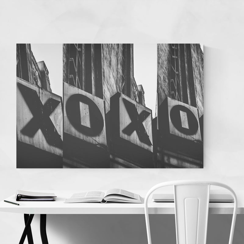 Love XO Sign Photography Art Print