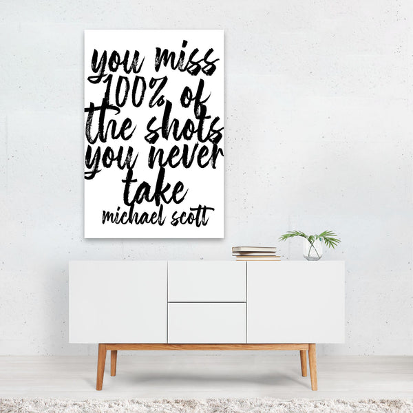 The Office Michael Scott Quote Art Print