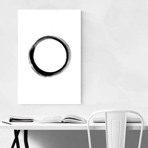 Simple Zen Minimal Abstract Art Print