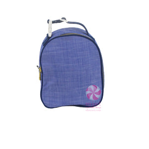 Blue Chambray Lunch Box