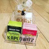 2 Section Tea Box