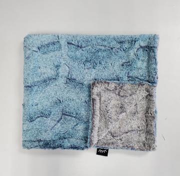 Heather Ocean Minky Blanket