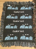 Boys Double Sided Blanket- Design Your Own
