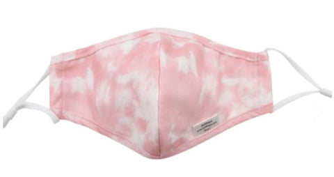 iKippah Light Pink Tie Dye Mask  (Choose Size)