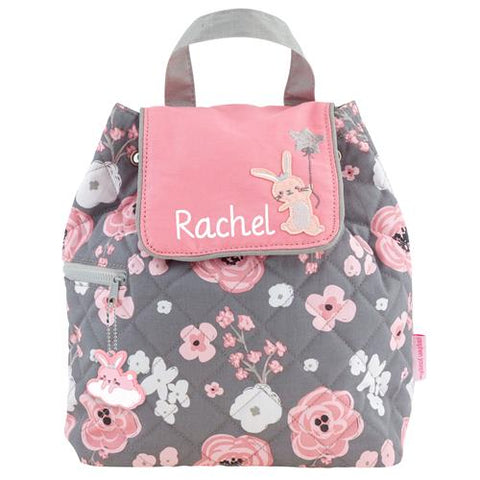 Quilted Floral Backpack for Baby/Toddler