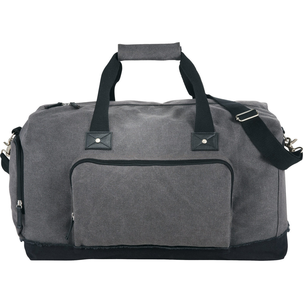 Gray Canvas Men's Duffle