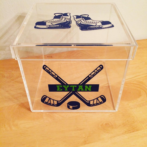 Hockey Lucite Box