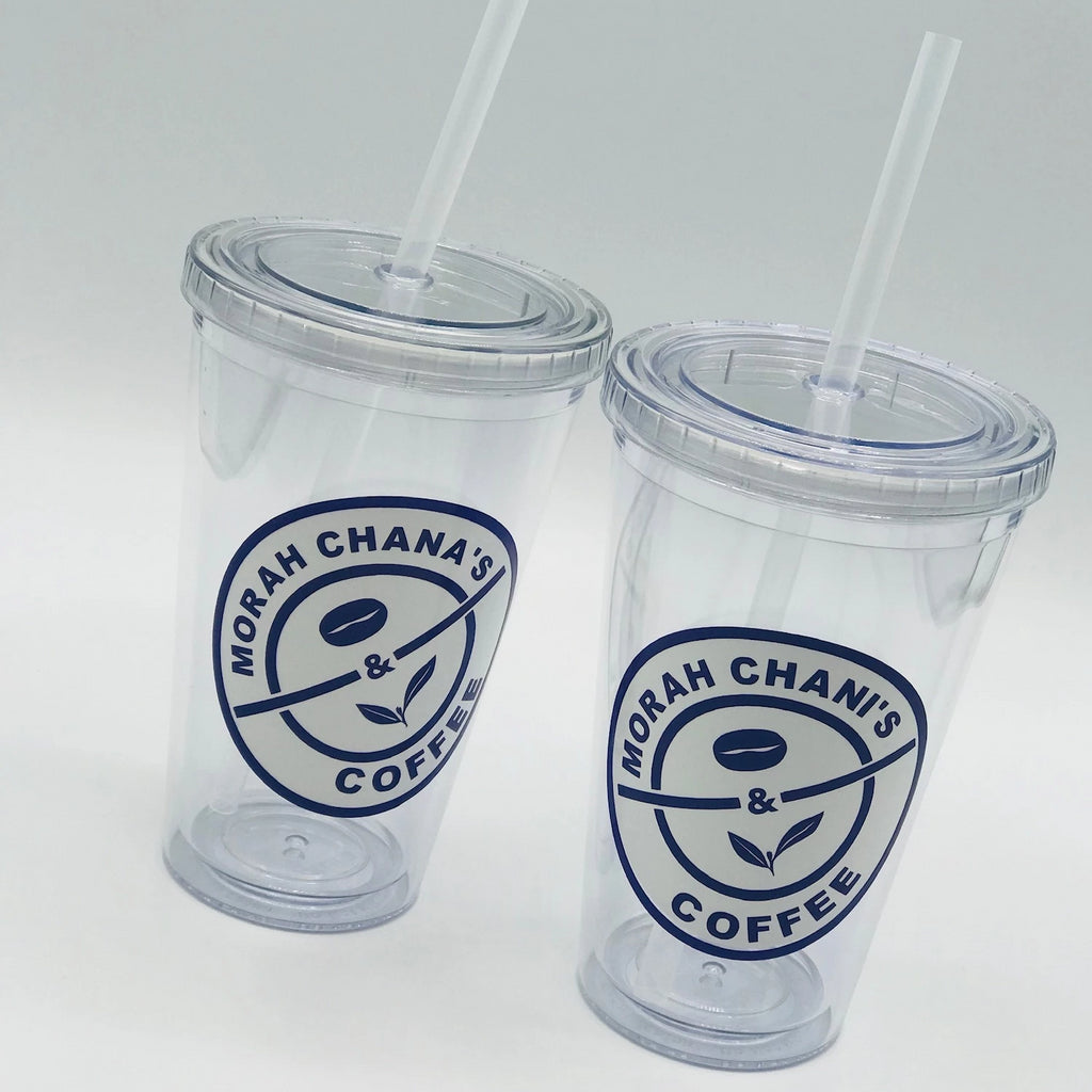 Coffee Bean Lucite Tumbler