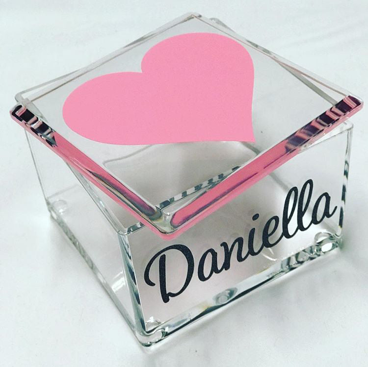 Catch All Lucite Box