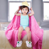 Toddler Princess Hooded Towel