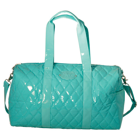 Mint Patent Large Duffle