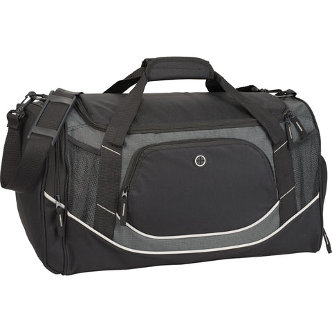 Men's Black Sports Duffle