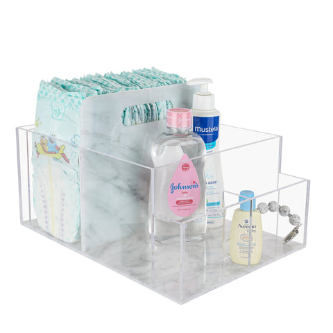 Lucite Diaper Caddy