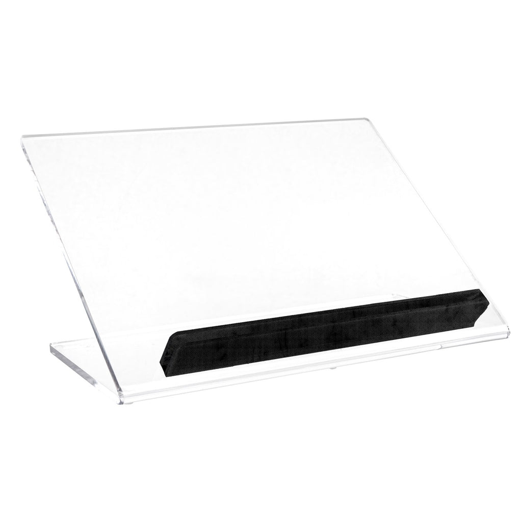 Lucite Tabletop Shtender with Black Accent