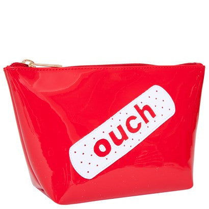 Red Ouch Cosmetic Bag