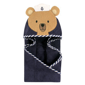 Infant Sailor Bear Towel