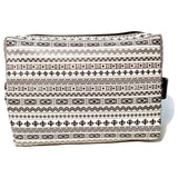 Black and White Toiletry Bag