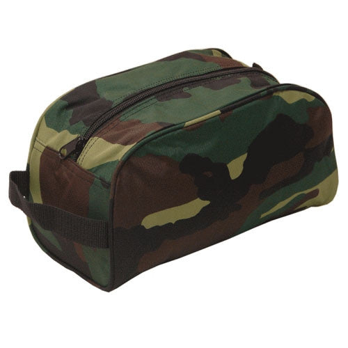 Camo Toiletry Bag