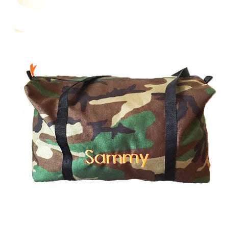 The Big Camo Duffle