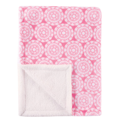 Hot Pinks Minky Blanket