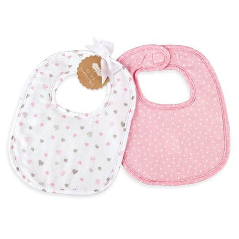 Heart Bib Set
