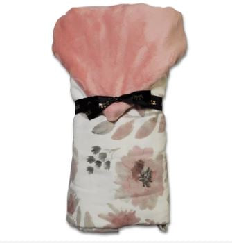 Floral Hooded Toddler Towel