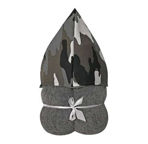 Camo Hooded Toddler Towel