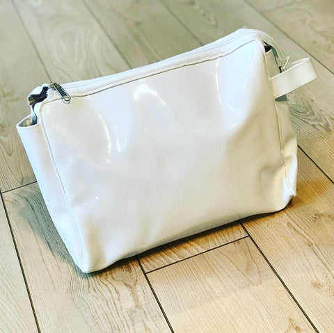 White Toiletry Pouch