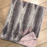 Blush Ombre Crush Minky Blanket