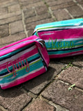 Watercolor Toiletry Bag