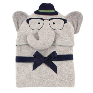 Infant Boy Elephant Towel