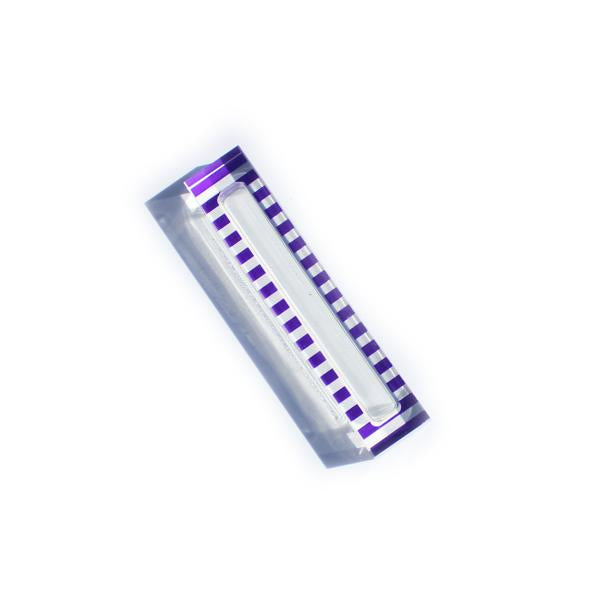 Purple Stripe Mezuzah